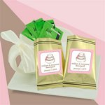 Personalized Green Tea Sampler (gold bag)