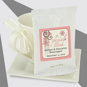 Personalized Wedding Coffee - Full Pot (white bag)