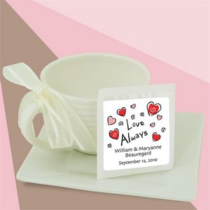 Personalized Tea (white bag)