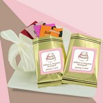 Personalized Flavored Tea Sampler (gold bag)