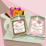Personalized Flavored Tea Sampler (silver bag)