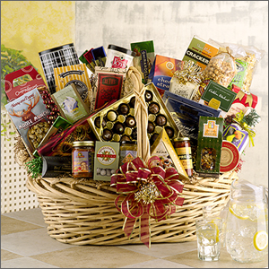 Holiday gift baskets gift basket gourmet food gift basket holiday gift baskets christmas gifts business gifts negle Image collections