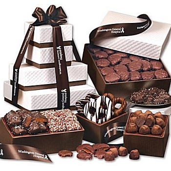 Corporate gift baskets business gifts shipped direct to your recipient gourmet food gift baskets corporate food gift towers negle Choice Image