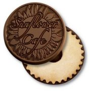Promo Cookies - Chocolate Covered with your logo