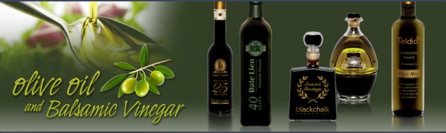 Olive Oil and Balsamic Vinegar engraved with your logo make the perfect corporate gift idea
