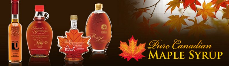 Maple Leaf Syrup Bottles Our Real Maple Syrup Bottles