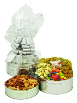 Gourmet cookies, candies and nuts make the perfect gift any time of year