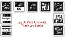 Custom Chocolate Assortment with Gift Lid 19-Piece