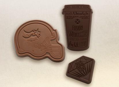 Custom Chocolate Bar in Custom Shape with Gift Box