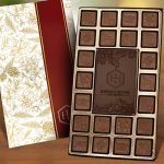 23pc SOLID Milk and Dark Chocolate Assortment with Stock Borders