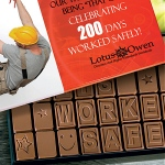 Logo Chocolate 40-Piece Words in Chocolate