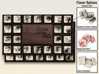 New! 46-Piece Chocolate Assortment with Flavored Borders