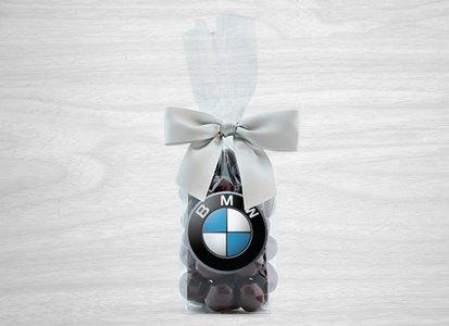 Dark Chocolate Covered Kona Coffee Beans in Gift Bag