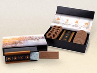 Luxury Sweet Box of Chocolate Covered Pretzels and Cookies