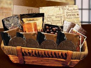 Thank You Gift Basket - Stock No Logo