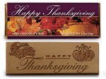Happy Thanksgiving Chocolate  Wrapper Bars