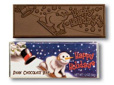 Happy Holidays Wrapper Bars-Dark - Stock
