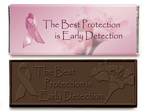 Breast Cancer Awareness Wrapper Bars-Dark