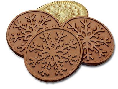 Snowflake MILK Chocolate Cookie