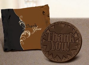 Thank You Sugar Cookie-Dark Chocolate - Stock