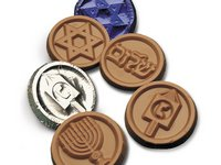 Happy Hanukkah Coins - Stock No Logo