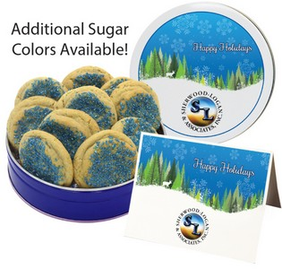 Crystal Sugar Cookies (15 oz. in small Tin)