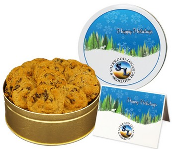 Oatmeal Raisin Cookies (15 oz. in small Tin)