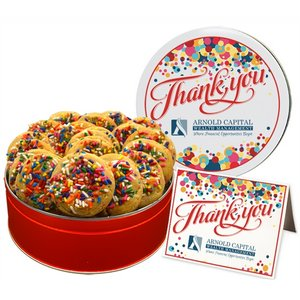 Celebration Sprinkle Cookies - Regular Tin