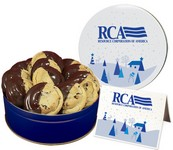 Dipped Chocolate Chip Cookies - Regular Tin