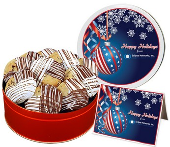 Deluxe Double Dipped Chocolate Chip Cookies (25 oz. Regular Tin)