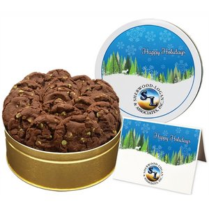 NEW Chocolate Mint Chip Cookies - Regular Tin