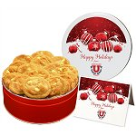 White Chocolate Macadamia Nut Cookies In Regular Size Gift Tin
