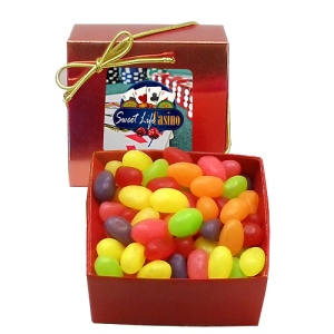 Jelly Beans in Gift Box with Custom Label (3 oz)