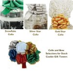 Gourmet Duet Cookie Gift and Nut Gift Basket Tower