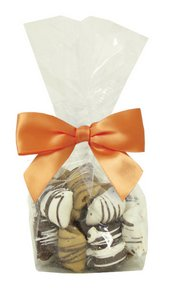 Chocolate Covered Pretzel Nuggets in Mini Clear Bag 21 - 4.5 oz