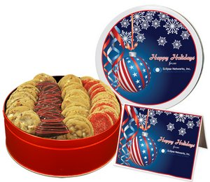 Holiday Cookie Cookie Gift Assortment in Large Gift Tin