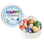 Swiss Chocolate Truffles in a Petite Gift Tin (6 ea.)