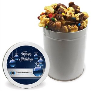 Chocolate Drizzled Toffee Crunch Popcorn - Quart Tin