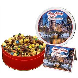 Chocolate Drizzled Toffee Crunch Popcorn (24 oz. in Large Tin)
