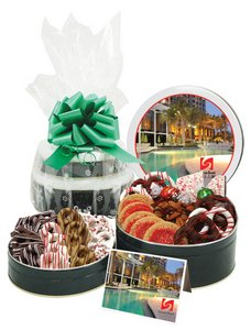 Cool Collection Cookie Gift Basket Tower