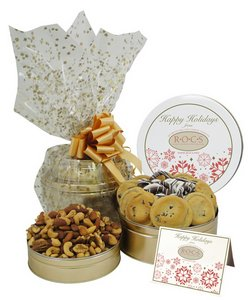 Sweet 'N Salty Gift Basket Tower Cookie Gift