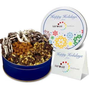 World Series Toffee Popcorn Gift Assortment in Gift Tin