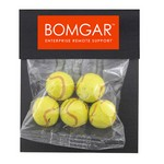 Billboard Bag with Chocolate. Tennis Balls
