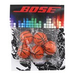 Billboard Bag with Chocolate. Basketballs