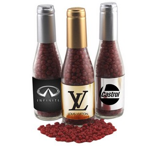 Champagne Bottle with Red Hots