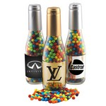 Champagne Bottle with Mini Jawbreakers