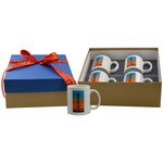 4 Full Color Mug Deluxe Gift Box