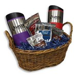 Deluxe Travel Mug Gift Basket