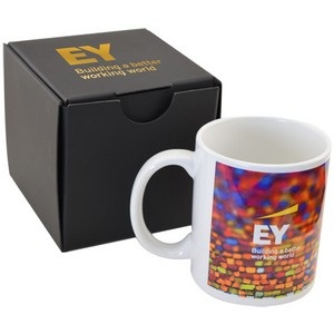 Soft Touch Gift Box with Full Color Mug