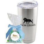 Tumbler with Chocolate Buttons Mug Drop